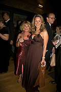 Cathy Sweeney and her daughter Claire Sweeney, Save the Children's Festival of Trees Gala dinner. Natural History Museum. London. 4 December 2007. -DO NOT ARCHIVE-© Copyright Photograph by Dafydd Jones. 248 Clapham Rd. London SW9 0PZ. Tel 0207 820 0771. www.dafjones.com.