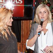 NLD/Amsterdam/20151126 - Perspresentatie The Christmas Show, Irene Moors en Nicolette van Dam