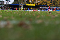 A general view of Clarence Park, home of St Albans City<br /> <br /> Photographer Craig Mercer/CameraSport<br /> <br /> The Emirates FA Cup First Round - St Albans City v Carlisle United - Sunday 6th November 2016 - Clarence Park - St Albans<br />  <br /> World Copyright © 2016 CameraSport. All rights reserved. 43 Linden Ave. Countesthorpe. Leicester. England. LE8 5PG - Tel: +44 (0) 116 277 4147 - admin@camerasport.com - www.camerasport.com