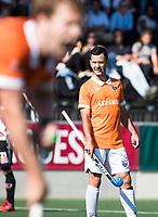 AMSTELVEEN  - Hockey -  1e wedstrijd halve finale Play Offs dames.  Amsterdam-Bloemendaal (5-5), Bl'daal wint na shoot outs.    Jamie Dwyer (Bldaal).   COPYRIGHT KOEN SUYK