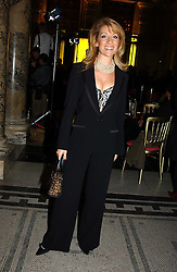 ALIZA REGER at the 2004 British Fashion Awards held at Thhe V&A museum, London on 2nd November 2004.<br />