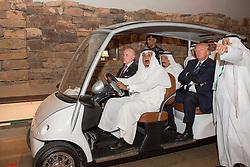 Saudi King Salman Bin Abdelaziz (or Abdul Aziz) Al Saud (3rd from L) receives US President Donald Trump and First Lady Melania in Riyadh, Saudi Arabia on May 20, 2017. This is the first US president's visit abroad. Photo by Balkis Press/ABACAPRESS.COM