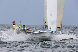 , Kiel - SAP 505er World Championship 2014, 505er, GER 9062, Jens OLBRYSCH, Johannes BUITENHUIS,