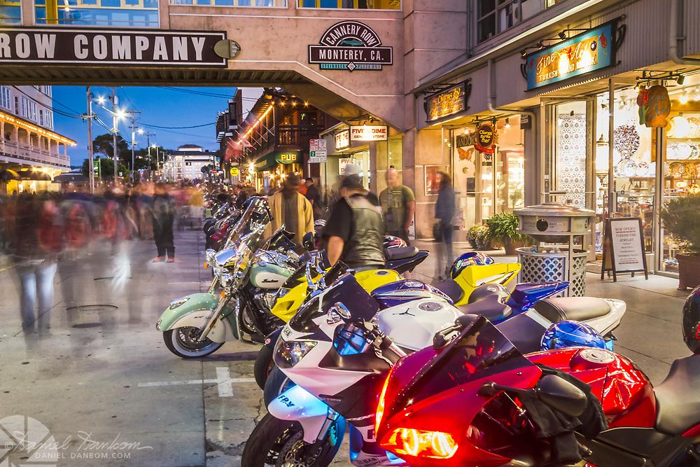 Cannery Row, Superbike Nights, during the Superbike World Championship weekend at Laguna Seca Raceway