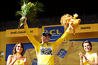 Sykkel<br /> Tour de France 2011<br /> 08.07.2011<br /> Foto: PhotoNews/Digitalsport<br /> NORWAY ONLY<br /> <br /> 7th stage / Le Mans - Chateauroux<br /> <br /> HUSHOVD Thor (TEAM GARMIN - CERVELO - NOR)