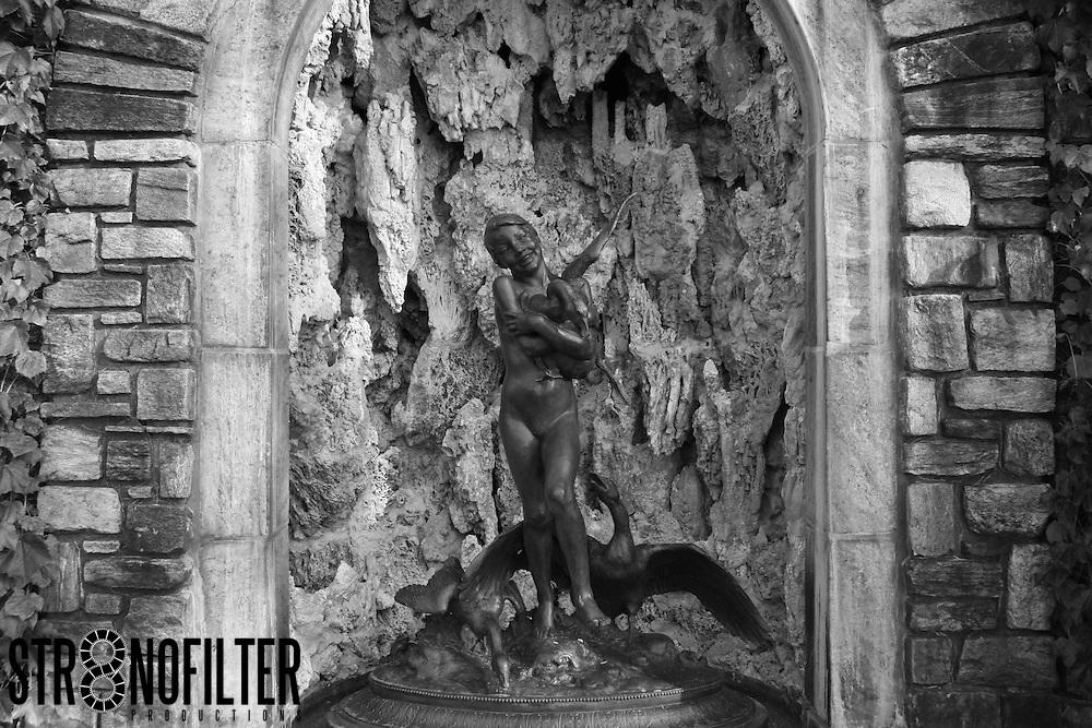 Beautiful Sculptures in the Rockefeller Garden