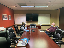 Dikita meeting in Dallas, Texas on Friday March 26, 2021. George