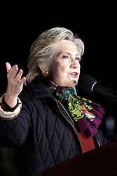 October 24, 2016 - Philadelphia, PA, United States - Hillary Clinton campaigns for President of the United States at the University of Pennsylvania on October 22, 2016 in Philadelphia, Pennsylvania  (Credit Image: © William T Wade Jr/Ace Pictures via ZUMA Press)