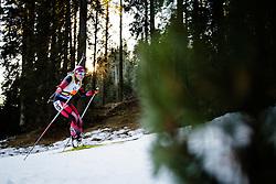 Lisa Theresa Hauser (AUT) during Women 12.5 km Mass Start at day 4 of IBU Biathlon World Cup 2015/16 Pokljuka, on December 20, 2015 in Rudno polje, Pokljuka, Slovenia. Photo by Ziga Zupan / Sportida