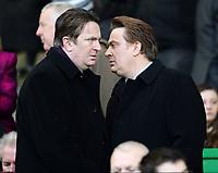 06/03/16 WILLIAM HILL SCOTTISH CUP QUARTER-FINAL<br /> CELTIC v MORTON<br /> CELTIC PARK - GLASGOW<br /> Celtic Chairman Ian Bankier (left) and Chief Executive Peter Lawwell