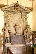 Goddard family memorial monument village parish church of Saint Martin, East Woodhay, Hampshire, England, UK