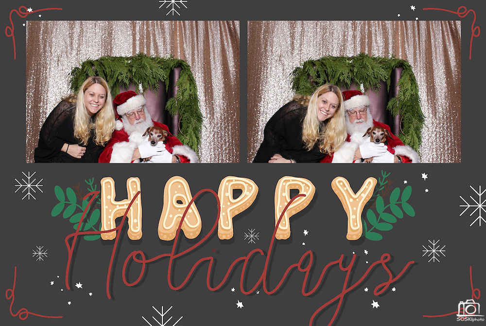 San Francisco Holiday Party Photo Booth Rental. (SOSKIphoto Booth)