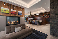 Architectural interior image of Elkridge MD apartments Dartmoor Place, by Jeffrey Sauers of CPI Productions