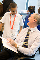Construction Crew. CLM chairman Ian Galloway at ODA Construction Crew consultation at Canary Wharf. Picture taken on 04 Nov 2008 by David Poultney.