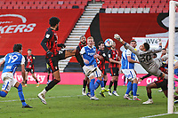 Football - 2020 / 2021 Sky Bet Championship - AFC Bournemouth vs. Birmingham City - The Vitality Stadium<br /> <br /> Bournemouth's Philip Billing sneaks in on the back post to score Bournemouth's third goal at the Vitality Stadium (Dean Court) Bournemouth <br /> <br /> COLORSPORT/SHAUN BOGGUST