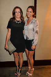 The UK Premier of Johnnie Walker Blue Label's 'Gentleman's Wager' - a short film starring Jude Law was held at The Bulgari Hotel & Residences, 171 Knightsbridge, London on 22nd July 2014.<br /> Picture Shows:-Left to right, NATALIE PINKHAM and LAVINIA BRENNAN.