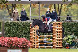 Aernauts Janne, BEL, Katinka van het Kerkenbulck<br /> Nationaal Kampioenschap LRV Ponies <br /> Lummen 2020<br /> © Hippo Foto - Dirk Caremans<br /> 27/09/2020