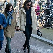 NLD/Amsterdam/20121208 - Herdenkingsdienst voor de verleden Jeroen Willems, Carice van Houten en Halina Reijn