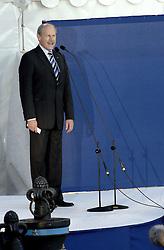 06-08-2006 ATLETIEK: EUROPEES KAMPIOENSSCHAP: GOTHENBORG <br /> De openingsceremonie van de 29th European Championships Athletics werd op de Gotaplatsen gehouden / EAA voorzitter Hans Jorgen Wirtz<br /> ©2006-WWW.FOTOHOOGENDOORN.NL