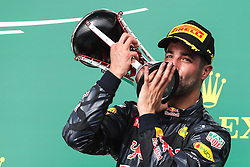 Formel 1: Grosser Preis der USA in Austin, Renntag / 231016<br /> <br /> ***Daniel Ricciardo (AUS) Red Bull Racing RB12.<br /> 23.10.2016. Formula 1 World Championship, Rd 18, United States Grand Prix, Austin, Texas, USA, Race Day.<br /> ***