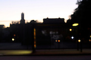 """"""" A Brooklyn Bus Stop """" (out of focus)"""