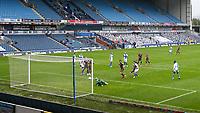 Leeds United's Mateusz Klich scores his side's third goal <br /> <br /> Photographer Alex Dodd/CameraSport<br /> <br /> The EFL Sky Bet Championship - Blackburn Rovers v Leeds United - Saturday 4th July 2020 - Ewood Park - Blackburn<br /> <br /> World Copyright © 2020 CameraSport. All rights reserved. 43 Linden Ave. Countesthorpe. Leicester. England. LE8 5PG - Tel: +44 (0) 116 277 4147 - admin@camerasport.com - www.camerasport.com