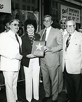 1976 Andy Griffith's Walk of Fame ceremony