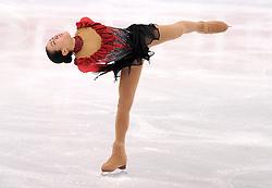 27.03.2010, Torino Palavela, Turin, ITA, ISU World Figure Skating Championships Turin 2010, Ladies free skating final, im Bild Mao Asada (JPN) gold medal. EXPA Pictures © 2010, PhotoCredit: EXPA/ InsideFoto/ Perottino / SPORTIDA PHOTO AGENCY