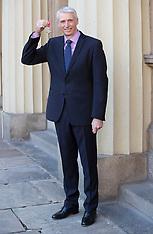 Investiture at Buckingham Palace - 13 Dec 2018