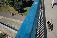 09.06.2019 Magdeburg, Schleinufer.<br /> <br /> md2025.de<br /> offizielles Bild im 1. Bid-Book<br /> Bewerbung Magdeburgs zur Kulturhauptstadt 2025<br /> <br /> © Harald Krieg/Agentur Focus