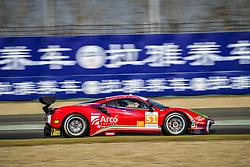 November 24, 2018 - Shanghai, Chine - 51 SPIRIT OF RACE (SUI) FERRARI 488 GT3 GT ALESSANDRO PIER GUIDI (ITA) OSWALDO NEGRI JR (USA) FRANCESCO PIOVANETTI  (Credit Image: © Panoramic via ZUMA Press)
