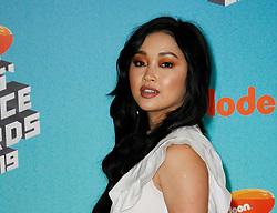 March 23, 2019 - Los Angeles, CA, USA - LOS ANGELES, CA - MARCH 23: Lana Condor attends Nickelodeon's 2019 Kids' Choice Awards at Galen Center on March 23, 2019 in Los Angeles, California. Photo: CraSH for imageSPACE (Credit Image: © Imagespace via ZUMA Wire)