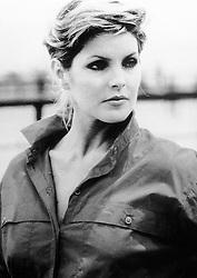 "Actress Priscilla Presley, who stars in American soap opera ""Dallas"" as Jenna Wade"
