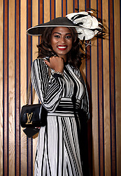 Racegoer Donna Roper from Birmingham during day one of Royal Ascot at Ascot Racecourse.