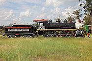 Steam locomotive in Ciego de Avila, Cuba.