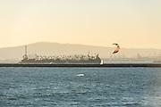 Wind Surfing in Seal Beach California