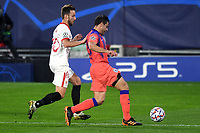 SEVILLE, SPAIN - DECEMBER 02: Ivan Rakitic of FC Sevilla and Cesar Azpilicueta of Chelsea FC during the UEFA Champions League Group E stage match between FC Sevilla and Chelsea FC at Estadio Ramon Sanchez-Pizjuan on December 2, 2020 in Seville, Spain. (Photo by Juan Jose Ubeda/MB Media)
