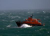 RNLI Lifeboat near Portland Bill, Dorset photo by Michael Palmer
