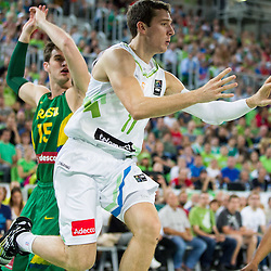 20140822: SLO, Basketball - Telemach Tournament, Slovenia vs Brasil