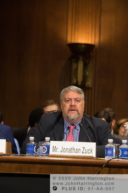 """Mr. Jonathan Zuck, President, ACT The App Association testifies on Wednesday September 14, 2016, before the Subcommittee on Oversight, Agency Action, Federal Rights and Federal Courts, testimony was also heard from The Honorable Lawrence E. Strickling, Assistant Secretary for Communications and Information and Administrator<br /> National Telecommunications and Information Administration (NTIA), United States Department of Commerce;  Mr. Göran Marby, CEO and President, Internet Corporation for Assigned Names and Numbers (ICANN); Mr. Berin Szoka, President, TechFreedom; Mr. Jonathan Zuck, President, ACT The App Association;  Ms. Dawn Grove, Corporate Counsel<br /> Karsten Manufacturing; Ms. J. Beckwith (""""Becky"""") Burr, Deputy General Counsel and Chief Privacy Officer, Neustar;  Mr. John Horton, President and CEO, LegitScript;  Mr. Steve DelBianco, Executive Director, NetChoice; Mr. Paul Rosenzweig, Former Deputy Assistant Secretary for Policy, U.S. Department of Homeland Security."""
