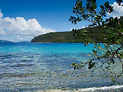 View of Haulover Bay, St. Johns, US Virgin Islands