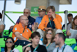King Willem Alexander of Holland,<br /> Olympic Games Rio 2016<br /> © Hippo Foto - Dirk Caremans<br /> 17/08/16