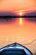 Sunrise at the dock, St Michaels Maryland