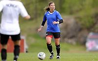 Fotball<br /> Norge<br /> 04.05.2011<br /> Foto: Morten Olsen, Digitalsport<br /> <br /> Trening Norge A kvinner<br /> Nadderud Stadion<br /> Internkamp - Norge Blå mot Norge Hvit<br /> <br /> Siri Nordby (B)