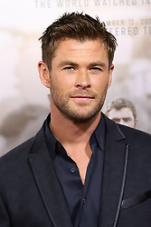 """Chris Hemsworth attends the premiere of """"12 Strong"""" at Jazz at Lincoln Center's Frederick P. Rose Hall in New York"""