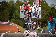 #42 (SCHIPPERS Jay) NED [Progate, TeamNL, meybo] at Round 8 of the 2019 UCI BMX Supercross World Cup in Rock Hill, USA
