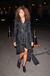 Naomie Harris arriving at the H&M show as part of the Paris Fashion Week Womenswear Fall/Winter 2018/2019 in Paris, France on February 28, 2018. Photo by Julien Reynaud/APS-Medias/ABACAPRESS.COM