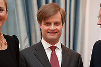 13 JAN 2011, BERLIN/GERMANY:<br /> Friedrich von Jagow, 1. Vorsitzender Forschungsgemeinschaft 20. Juli 1944, Neujahrsempfang des Bundespraesidenten, Schloss Bellevue<br /> IMAGE: 20110113-01-024