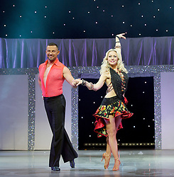Kristina Riahnoff and Robin Windsor in  Puttin' On The Ritz at New Wimbledon Theatre, London, Great Britain <br /> <br /> 27 May 2015 <br />  <br /> Robin Windsor, Kristina Rhianoff <br />  <br /> <br /> Photograph by Elliott Franks <br /> Image licensed to Elliott Franks Photography Services