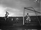 1956 - Soccer: Waterford F.C. v Shamrock Rovers. Final of Top Four Competition.